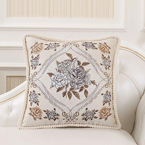 Elegante kit de almohadas sofás de tela no-almohada cojín ...