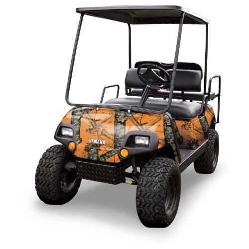 Mossy Oak Graphics (10060-BZ) Blaze 4' x 10' Roll Golf Cart Camouflage Kit ()