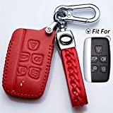 Hey Kaulor for Land Rover Key Fob Cover Case Protector Shell Fit Landrover/Range Rover Sport/Dsicovery/LR4