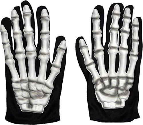 Gloves Skeleton Costume Accessory