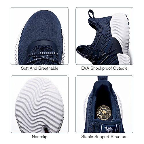 1 Ligero Deportivos Hombre Camel De Running zapatos zapatos Zapatillas Blue Caminar Para Correr sneakers Crown calzado qXXP4OwxrZ