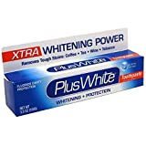 Plus White Whitening + Protection Toothpaste, Xtra Whitening Power Cool & Crisp Mint 3.50 oz (Pack of 3)