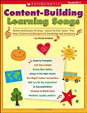 Content-Building Learning Songs, Meish Goldish, 043960964X