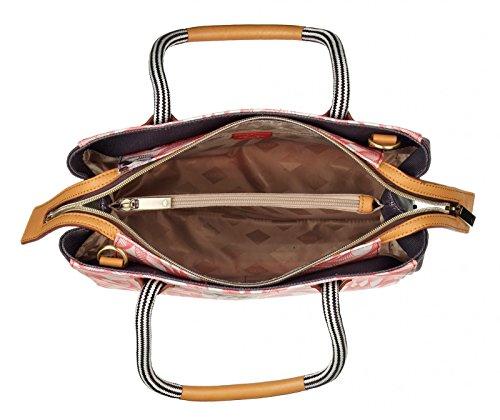 Oilily Handbag OES7126-330 Pink Flamingo Damen Handtasche Schultertasche Umhängetasche Pink (28 x 13 x 23 cm)