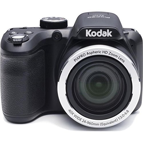 Kodak AZ401BK Point & Shoot Digital Camera with 3