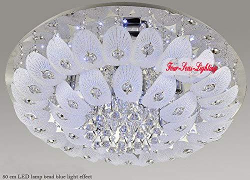 FidgetGear Modern K9 Crystal Chandelier Pendant Ceiling Lighting Living Room Pendant Lamp D50CM/19.7'' by FidgetGear (Image #8)