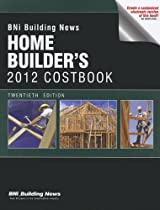 BNI Building News Home Builders 2012 Costbook (Home Builder's Costbook)