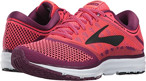 Brooks Women's Revel Diva Pink/Plum Caspia/Black Athletic Shoe