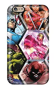 Iphone 6 Case Slim [ultra Fit] Marvel Protective Case Cover