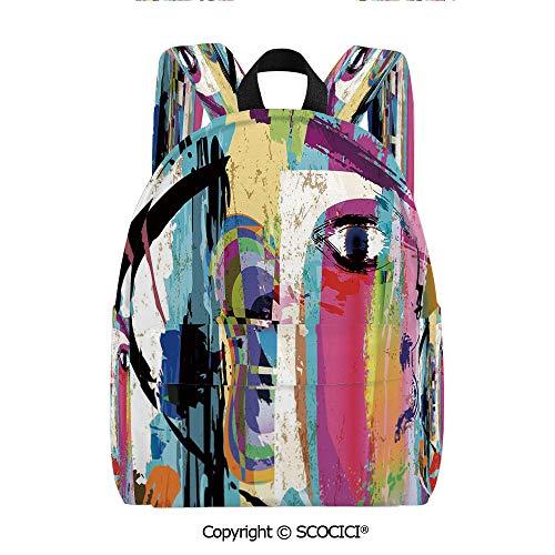 SCOCICI Women's City Backpack Multi-pocket design (11.5