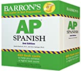 Best Barron's Educational Series Spanish Textbooks - Barron's AP Spanish Flash Cards, 2nd Edition Review