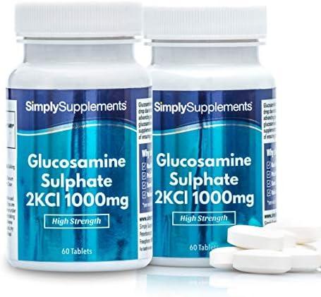 Glucosaminsulfat 1000mg - 120 Tabletten - SimplySupplements