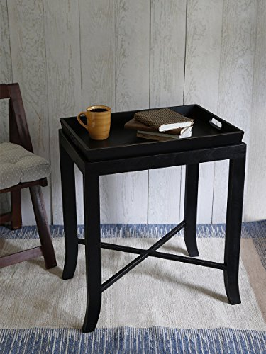 Cyber Monday Handmade Wooden Set of Serving Tray and Table TV Tray Over bed End Table for Kitchen Home Dining by storeindya