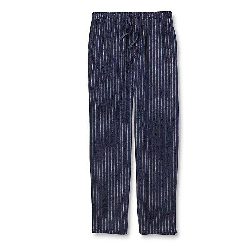 Joe Boxer Clothes (Joe Boxer Men's X-Large Microfleece Pajama Pants - Dress Blue Striped)