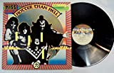 Kiss Vinyl LP Hotter Than Hell LP West Germany 1974 ZZ logo