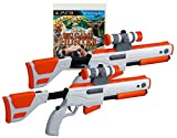 gun for ps3 - PS3 Cabela's Big Game Hunter 2012 Game w/ 2 GUNS Set Top Shot Elite Rifles