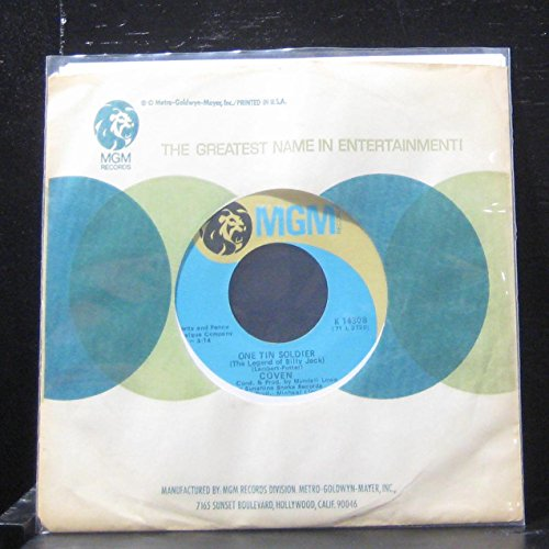 "Price comparison product image Coven - One Tim Soldier / I guess it's A Beautiful Day (Least I Think It Is) - 7"" Vinyl 45 Record"