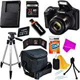 Canon Powershot SX420 IS 20 MP Wi-Fi Digital Camera with 42x Zoom (Black) Includes: Canon NB-11LH Battery & Charger + 9pc 32GB Deluxe Accessory Kit w/ DigitalUniverse Microfiber Cloth