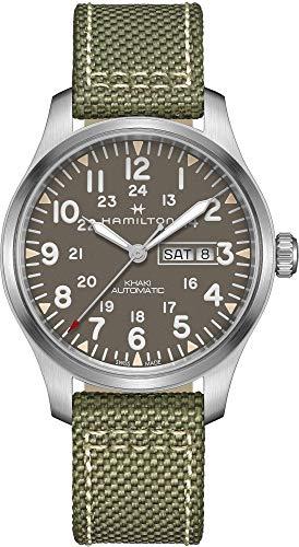 ساعت مچی مردانه همیلتون مدل H70535081 با بند پارچه ای