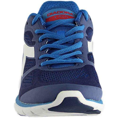 Diadora Scarpa Running Sneaker Jogging Uomo X Run Saltire Navy/Azzurro BAMB (47.5)