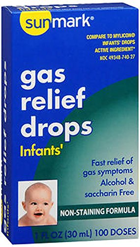 Sunmark Infants Gas Relief Drops, 1 oz by Sunmark