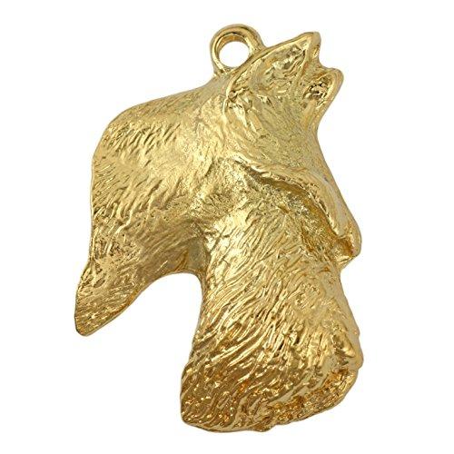 Scottish Terrier (Long Muzzle), Millesimal Fineness 999, Dog Necklaces, Limited Edition, Artdog by Art Dog Ltd.