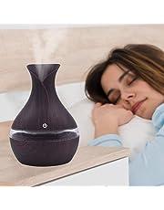 300ml Humectador ultrasónico del Aromatherapy del Aroma del difusor LED Humidificador florero del Aceite Esencial del Aroma del Aire