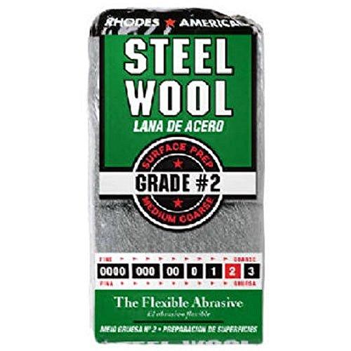 Rhodes America 12-Pack Steel Wool - Lot of 2 by Rhodes America
