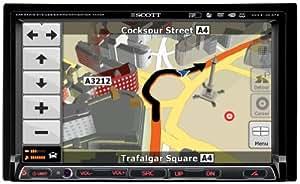 Scott DNX 2100 GPS - Navegador GPS (( 7  pulgadas))