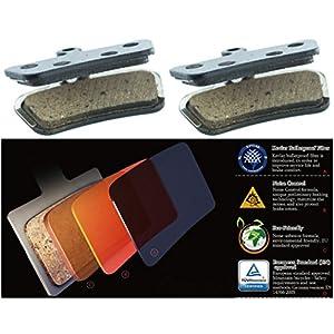 2 Pairs | Avid Elixir Trail X0 Trail Elixir 7 Trail Elixir 9 Trail Sram Guide R RS RSC MTB Replacement Disc Brake pads by Cooma Semi Metallic