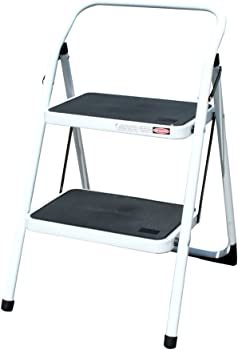 AmeriHome 2-Step Steel Utility Ladder