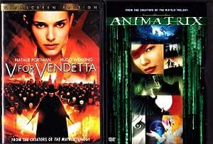 V For Vendetta , Animatrix : 2 Pack Collection