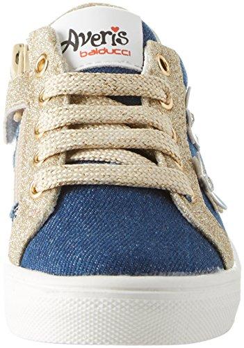BALDUCCI Averi364, Zapatillas Para Niñas Blu (Jeans)