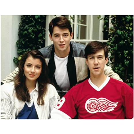 030376998 Ferris Bueller's Day Off Matthew Broderick as Ferris Bueller Alan Ruck as Cameron  Frye and Mia
