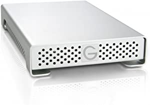 G-Technology G-DRIVE mini 500GB 7200RPM Portable External Hard Drive, USB 2.0, Firewire 400, Firewire 800 Interfaces 0G01650
