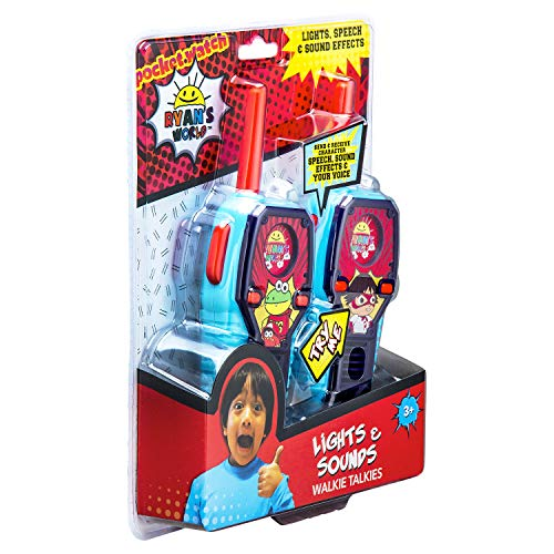 Ryans World FRS Walkie Talkies for Kids with Lights and Sounds Kid Friendly Easy to Use by eKids (Image #6)