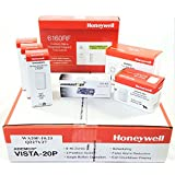 Honeywell Vista 20P Wireless Self Monitoring Kit with a 6160RF Keypad, One 5800PIR-Res Motion Sensor, One EVL-4CG EnvisaLink, Three 5816WMWH Door/Window Contacts, and a WAVE2 Siren