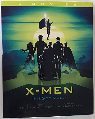 X-Men Trilogy Vol. 1 (X-Men / X2: X-Men United / X-Men: The Last Stand) [Blu-ray]