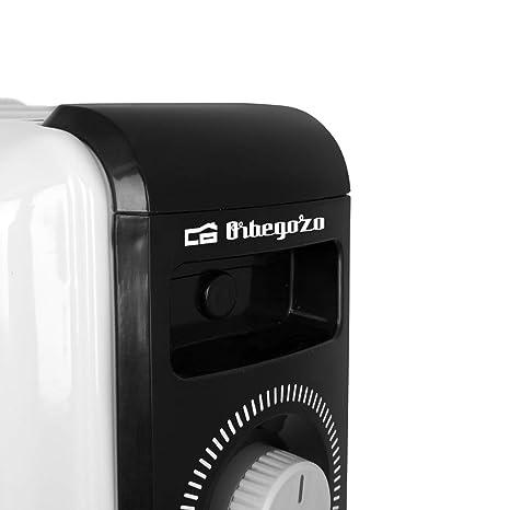 Orbegozo RF 2500 Radiador de Aceite, 2500W de Potencia, construcción Modular de 11 Elementos y diseño en Color Blanco: Amazon.es: Hogar