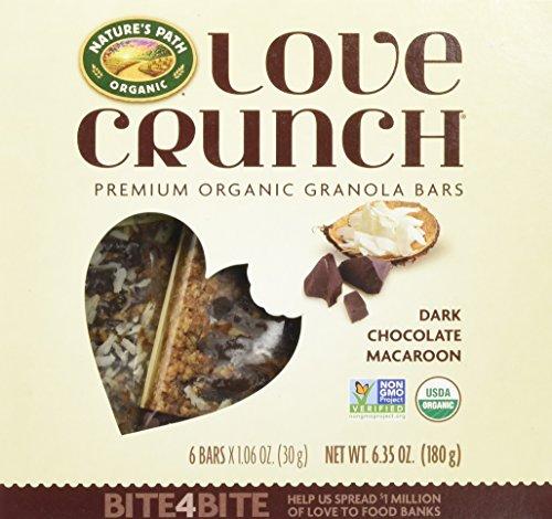 runch Premium Organic Granola Bars, Dark Chocolate/Macaroon, 12 pack with 6 bars each ()