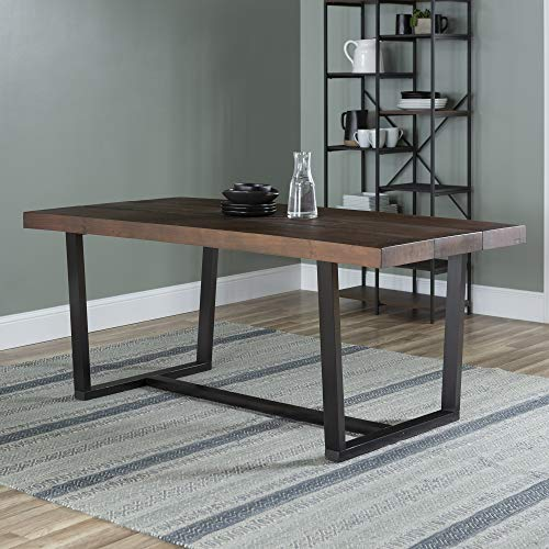 WE Furniture AZW72DSWMA Dining Table, 72