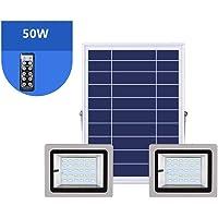 Q-floodlightS Csndice Home Solar Foco Proyector LED,Foco Impermeable
