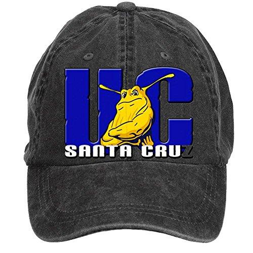 Futhure Unisex Uc Santa Cruz Banana Slugs Ucsc DIY Adjustable Baseball Hat (How To Wear A Santa Hat)