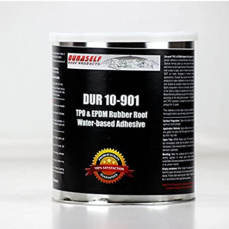 Lovely Duraself RV TPO/EPDM Water Based Adhesive For Rubber Roofing Comparable To  Dicor