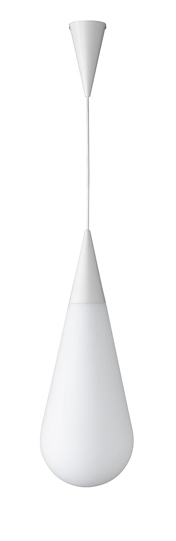 Trio Leuchten Toulon Pendelleuchte, Metall, Metall, Metall, E27, weiß b1b597