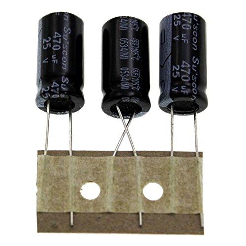 20x Elettrolitici Condensatore rad 470/µF 25V 105/°C ; SF025M471G20P50R ; 470uF