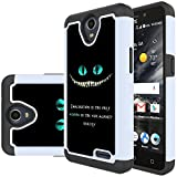 zte prelude 2 phone covers - ZTE Prelude Plus Case,ZTE Prestige 2 Case,ZTE Overture 3 Case,Yiakeng Shock Absorbing Dual Layer Protective Fit Armor Phone Cases Cover For ZTE Prestige 2/N9136 5