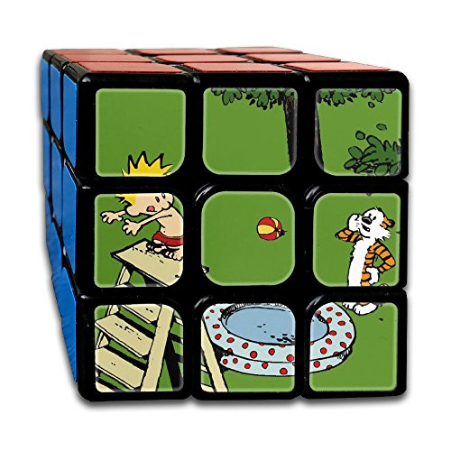 Smooth Sequential Puzzle Toy Calvin And Hobbes Speed Cube Standard 3x3 Smooth Magic Cube Puzzles, IQ Games Puzzles