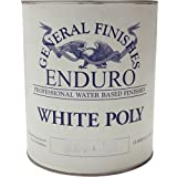 General Finishes Water Based White Poly Semi Gloss Gallon