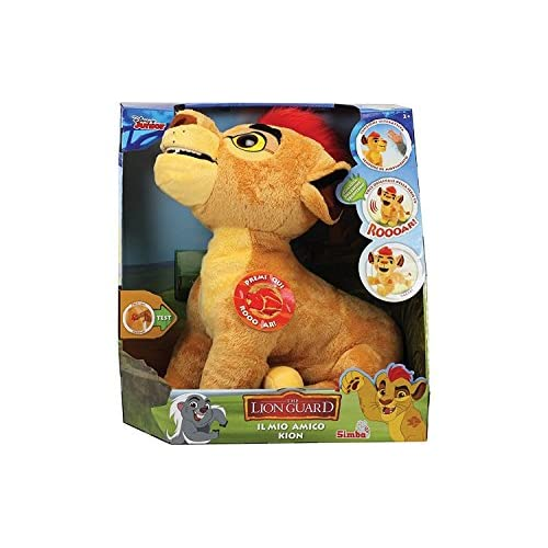 Simba 109318756009–La Garde du Roi Lion peluche interactive